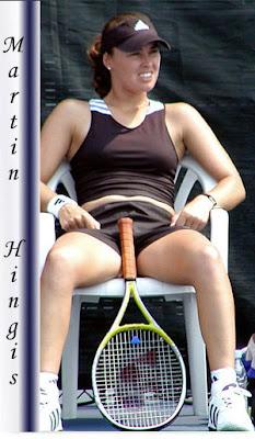 Player naked hingis tennis martina