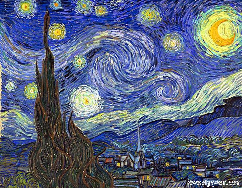 Vincent Van Gogh Y Su  Noche Estrellada