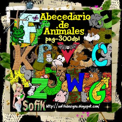 http://sofikdesigns.blogspot.com/2009/06/abecedario-de-animales.html