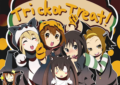 K-On Halloween chibi anime