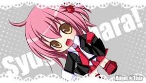 Amu Hinamori Shugo Chara Anime PSP wallpaper