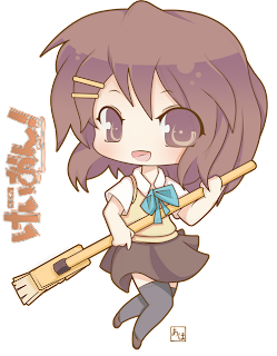 K-On Yui Chibi