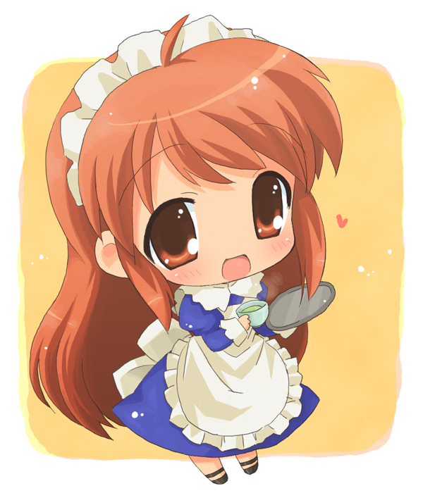 Cute chibi anime people
