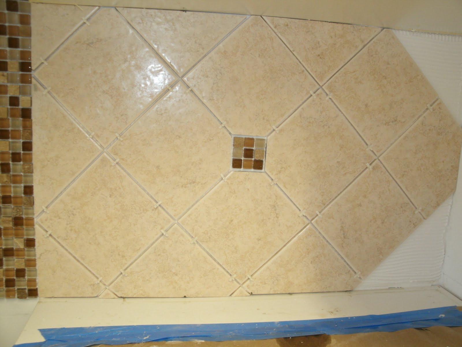 Kitchen Backsplash Diagonal Pattern