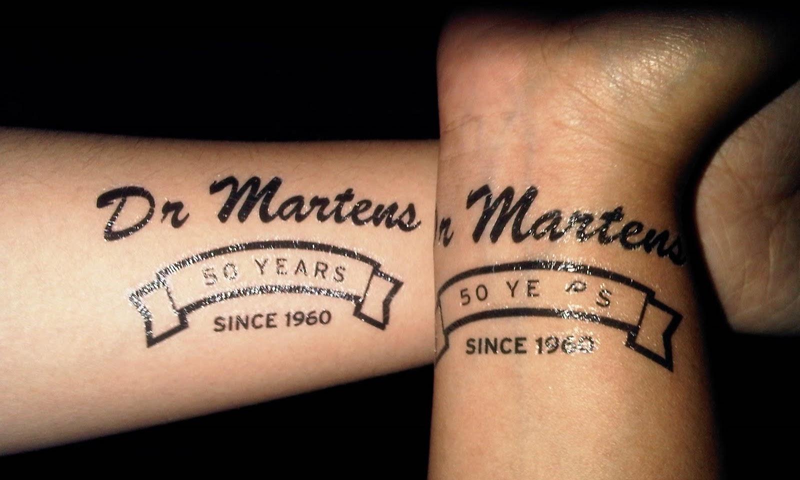 Doctor Marten's 50th anniversary