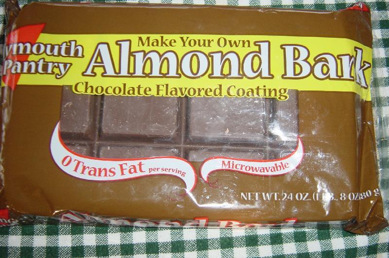 almond bark melting chocolate