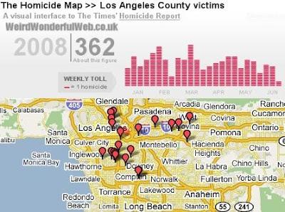 IMAGE: LA Times homicide map