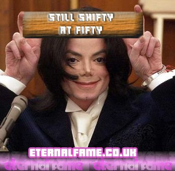 IMAGE: Michael Jackson - shifty at fifty