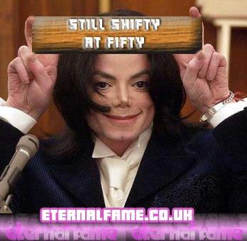 IMAGE: Michael Jackson - shifty at fifty