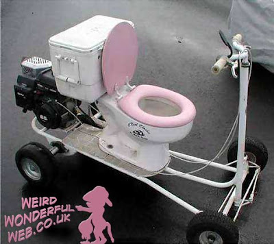 IMAGE: Toilet on wheels