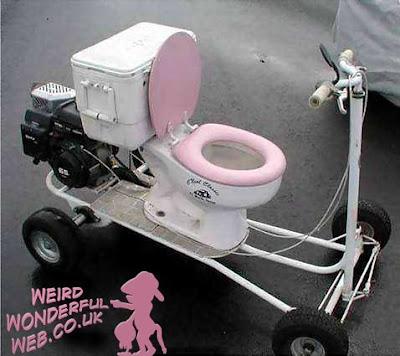 IMAGE: Toilet on wheels