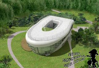 IMAGE: Haewoojae the toilet-shaped house