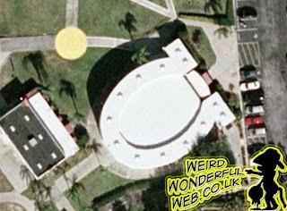 IMAGE: Toilet or horseshoe shaped building on Google Earth