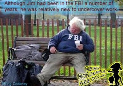 IMAGE: Undercover FBI tramp