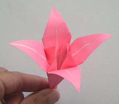 como hacer figuritas de origami   (vídeos)   Video+Tutorial+Origami+Como+Hacer+una+Flor