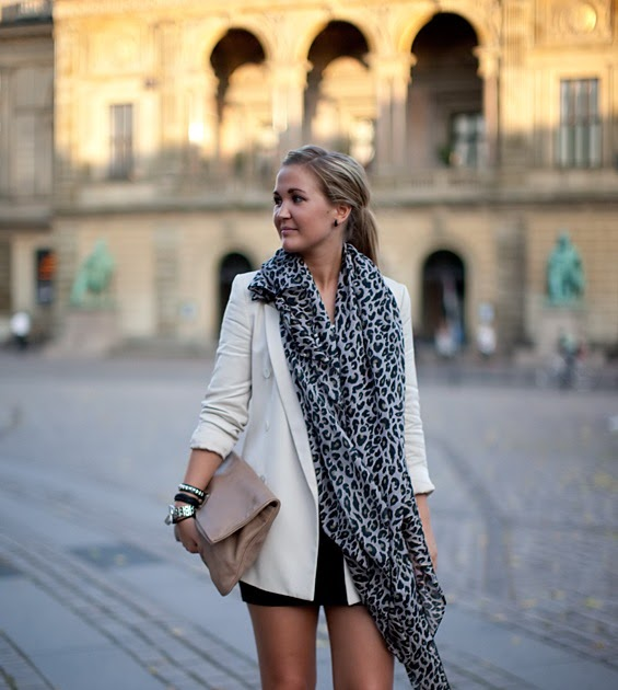 Absolute.Fashion: Wanted: Leopard Print Scarf