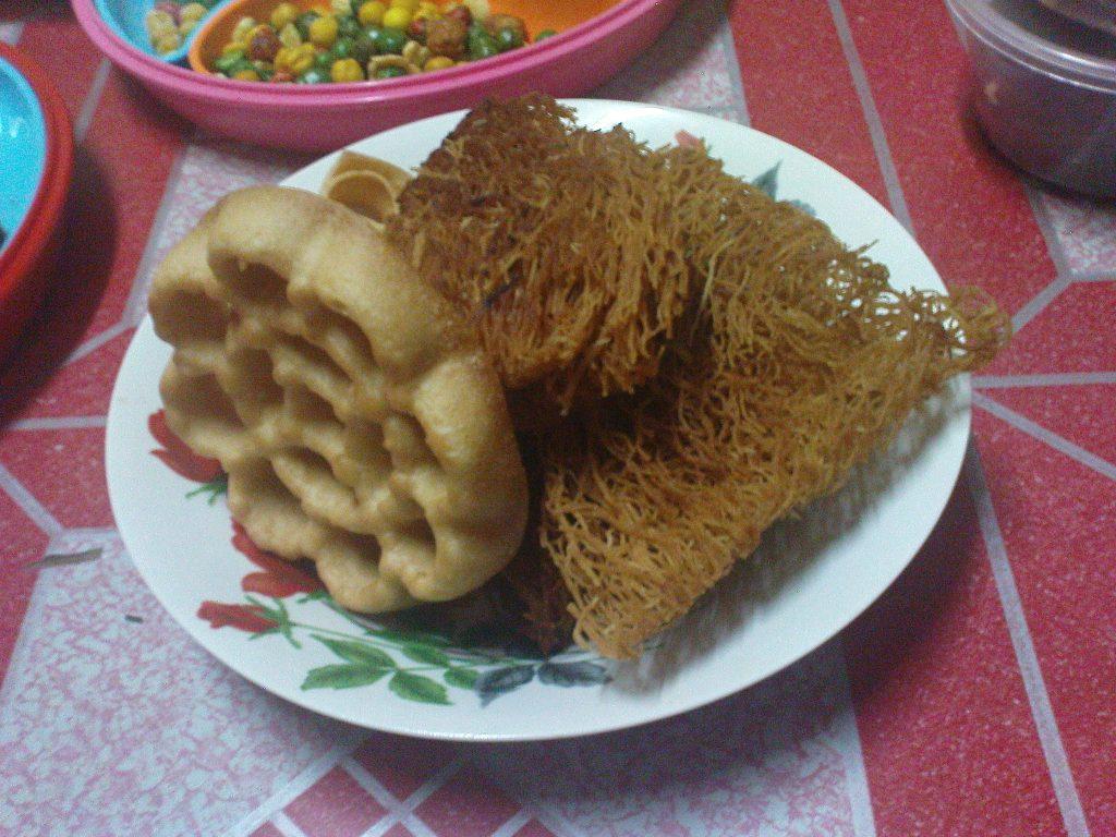 makanan tradisional kaum Iban yang pasti ada di rumah panjang setiap