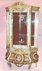 (9) فارينه درفه و3 درجخشب زان والسويد والقشره الطبيعيه والمارتيكليه يدوي كامله بالزجاج والنحاس