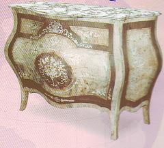 (17)بايوه مكوش 3درجمن الخشب الزان والسويد والقشره الطبيعيه ومارتيكليه يدوي كامل التشطيب