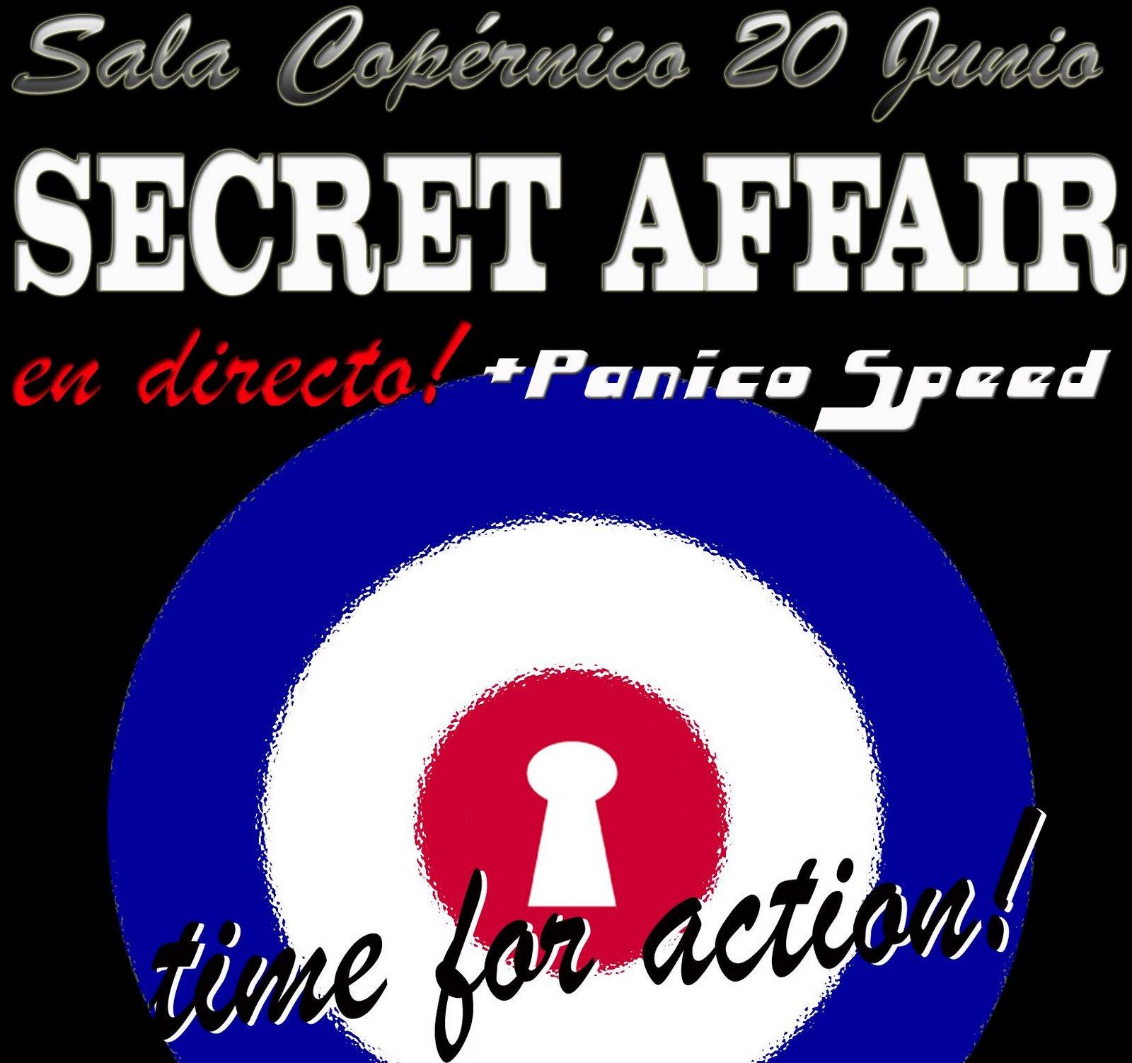 Secret Affair en Madrid