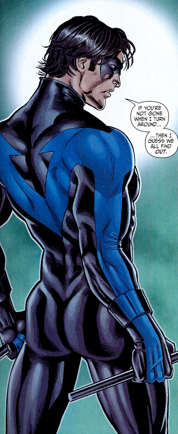 Nightwing Comic Art