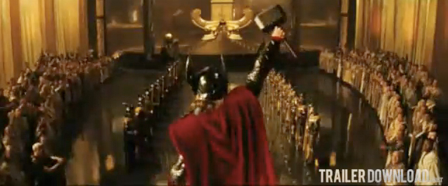 thor movie trailer. THE 2ND THOR MOVIE TRAILER: