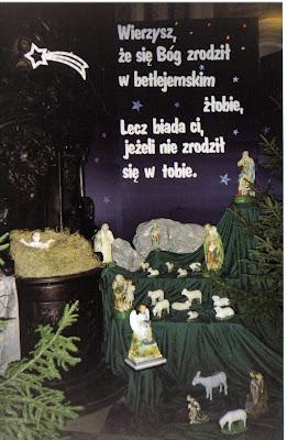Znalezione obrazy dla zapytania wierzysz że Bóg narodził się w żłobie, biada jeśli nie narodził się w Tobie