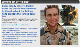 War Hero + Oscar Winner = Another Daily Mail lie