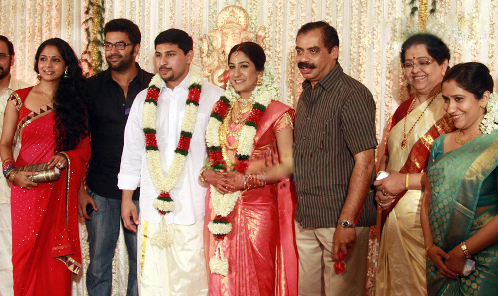 Shweta Mohan  Malayalam                                   is an Indian    Indrajith Poornima Marriage Photos