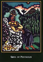 Sibyl of Pentacles World Spirit Tarot