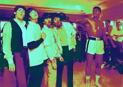 The Beatles, Beatles, John Lennon, Paul McCartney, George Harrison, Ringo Starr, Classic Rock, Beatles History,Cassius Clay, Ali
