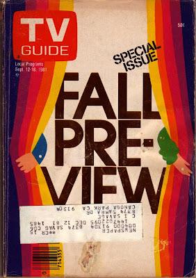 TV Guide Fall TV Preview, 70s TV Guide, Retro TV Guide, 70s TV