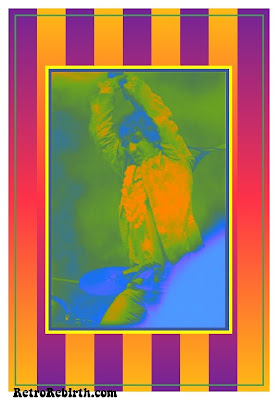 Pete Townshend, Monterey International Pop Festival 1967, Psychedelic, Pop Art, Hippie