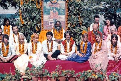 Beatles, Mick Jagger, Maharishi-Mahesh-Yogi