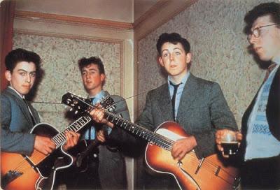 George Harrison joins Quarrymen