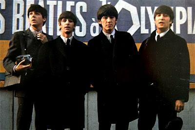 Beatles, John Lennon, Paul McCartney, George Harrison, Ringo Starr,