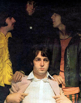 Beatles, John Lennon, Paul McCartney, George Harrison, Ringo Starr, 1968
