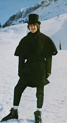 George Harrison, George Harrison Skiing, Beatles