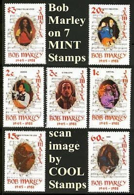 Bob Marley, Bob Marley Postage Stamp