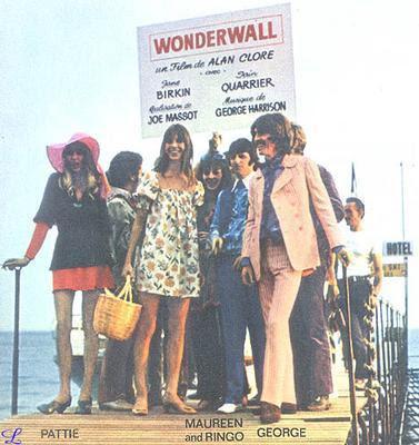 Wonderwall, Wonderwall Premiere, George Harrison