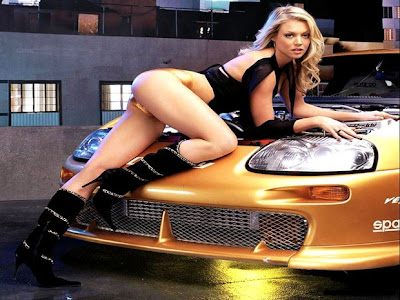 Hot USA Cars Girls with super car