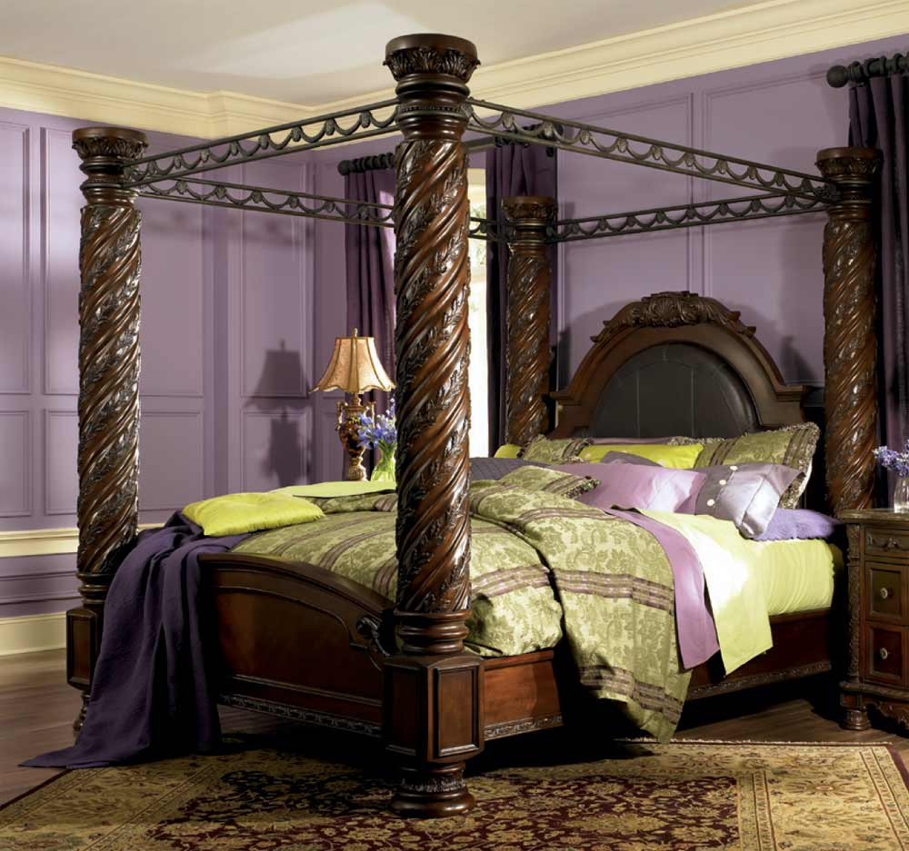 King Size Canopy Bedroom Sets at Home and Interior Design Ideas