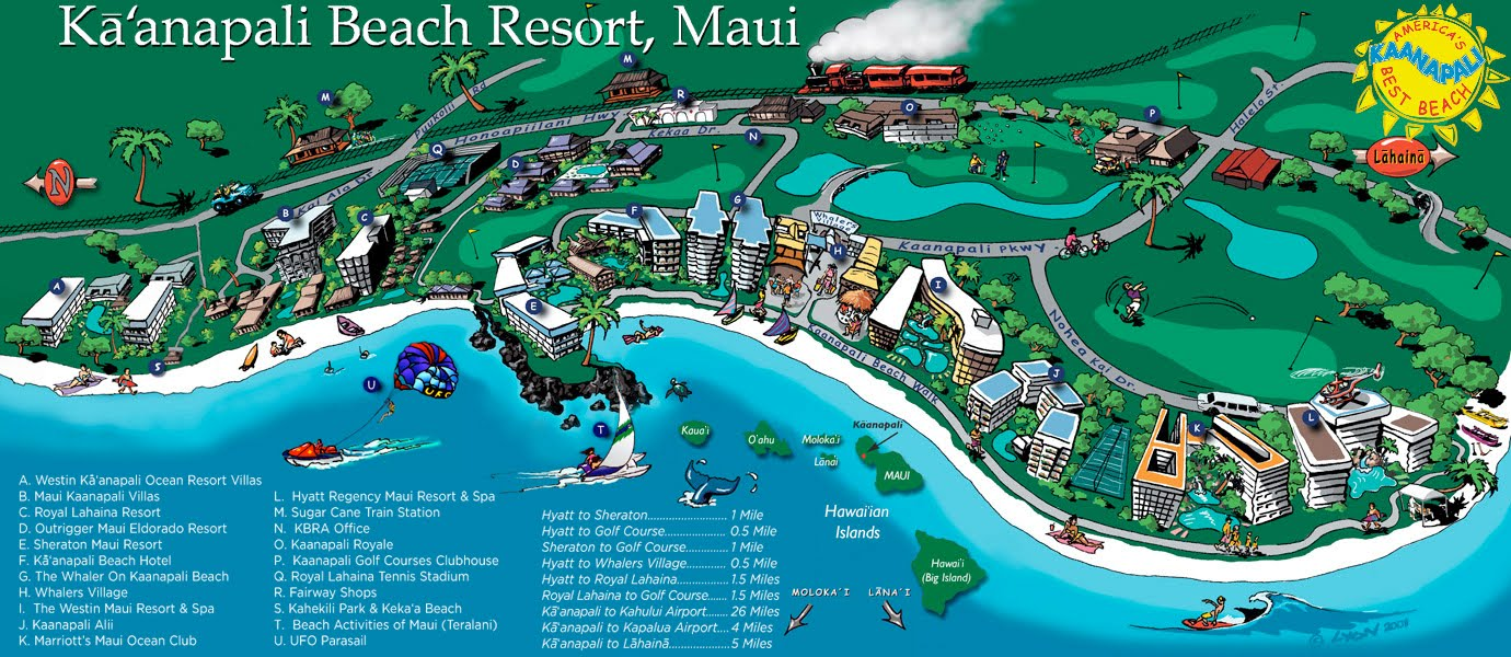 kaanapali (pronounced conapolly) is a  mile stretch of beach on maui'swest side there is something for everyone want to see fish you have onlyseen in . family vacation kaanapali beach
