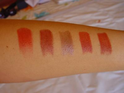 NYX Round Lipstick Swatches