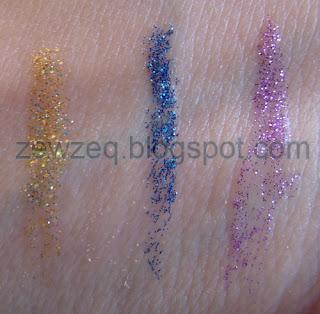 Pastel Glitter Eyeliner