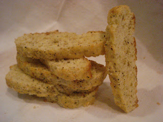The Cookie Scoop: Parmesan Black Pepper Biscotti