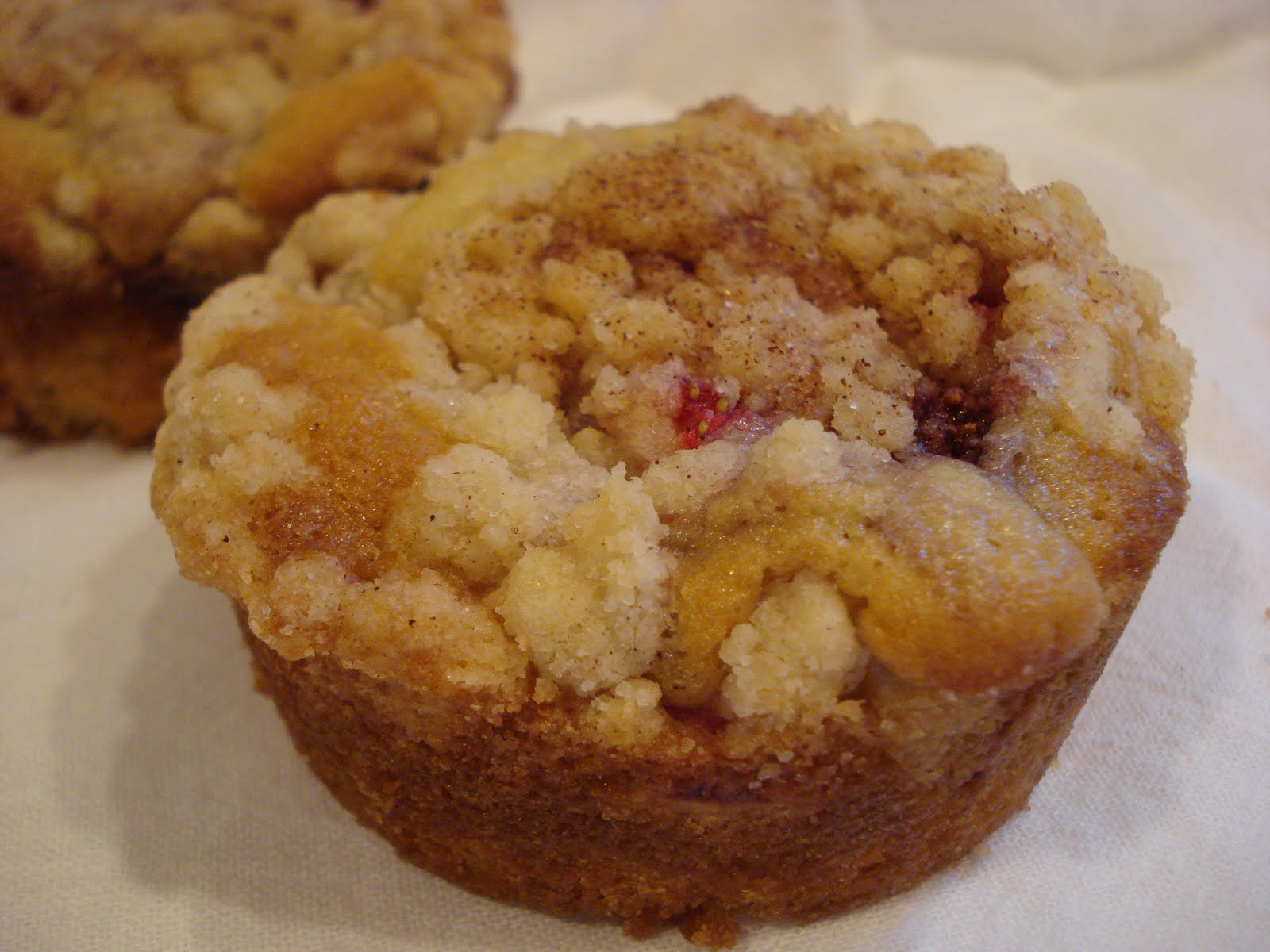 The Cookie Scoop: Rhubarb Cake..or Muffins