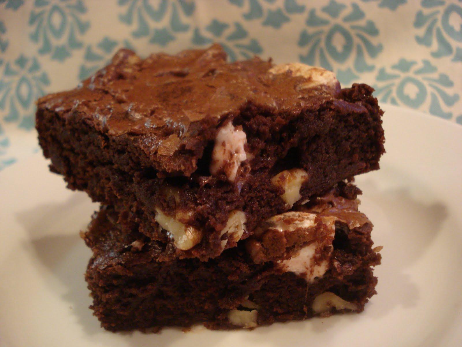 The Cookie Scoop: Rocky Road Brownies