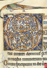 Manuscrito Iluminado medieval