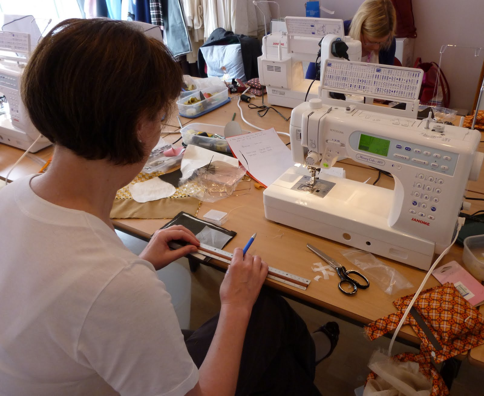 Sew janome thinking of doing a sewing class in